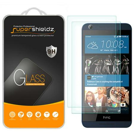 [2-Pack] Supershieldz for HTC Desire 626S / 626 Tempered Glass Screen Protector, Anti-Scratch, Anti-Fingerprint, Bubble (Best Tempered Glass Screen Protector For Htc 10)