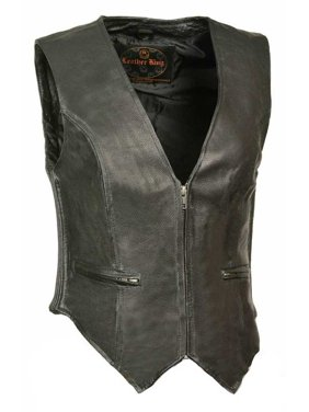 Product Image Women s Zipper Front vest w  Side Stretch (S) - Small SH1288.  Leather King 104b1c887