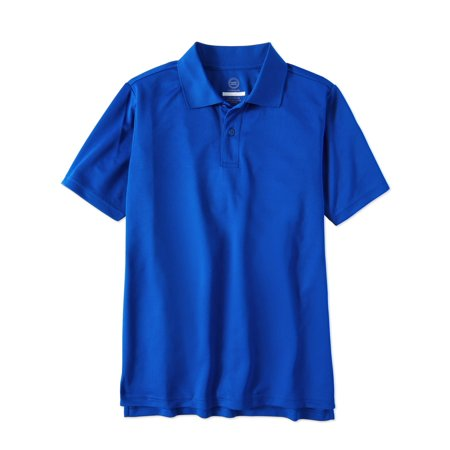 - Boys School Uniform Short Sleeve Performance Polo