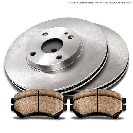 Rear Brake Pad and Rotor Kit For Chevy Cobalt 2008 2009