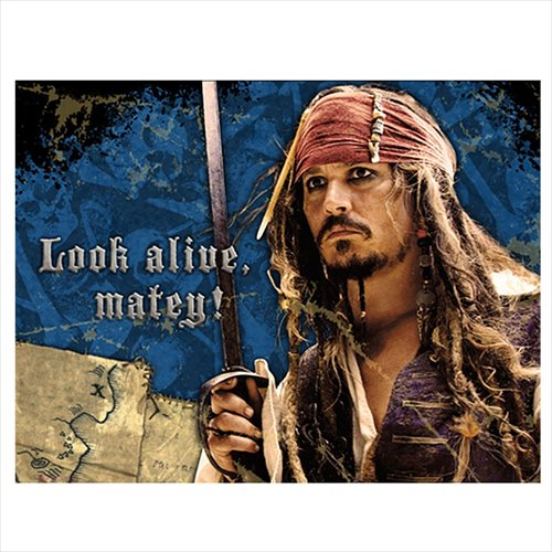 Pirates of the Caribbean 'On Stranger Tides' Invitations w/ Env. (8ct)