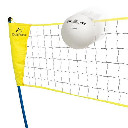 EastPoint Sports Easy Setup Portable Tripod Volleyball Net Set