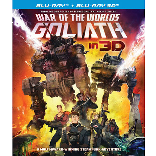 War Of The Worlds: Goliath (3D Blu-ray + Blu-ray) (Widescreen)