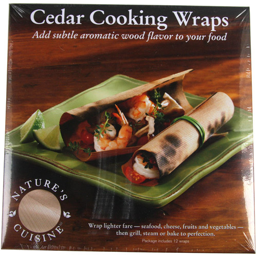 Natures Cuisine WRP004 Cedar Cooking Wraps
