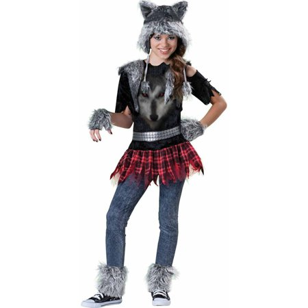 Wear Wolf Girls' Teen Halloween Costume - Cute Homemade Halloween Costumes For Baby Girl
