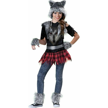 Wear Wolf Girls' Teen Halloween Costume