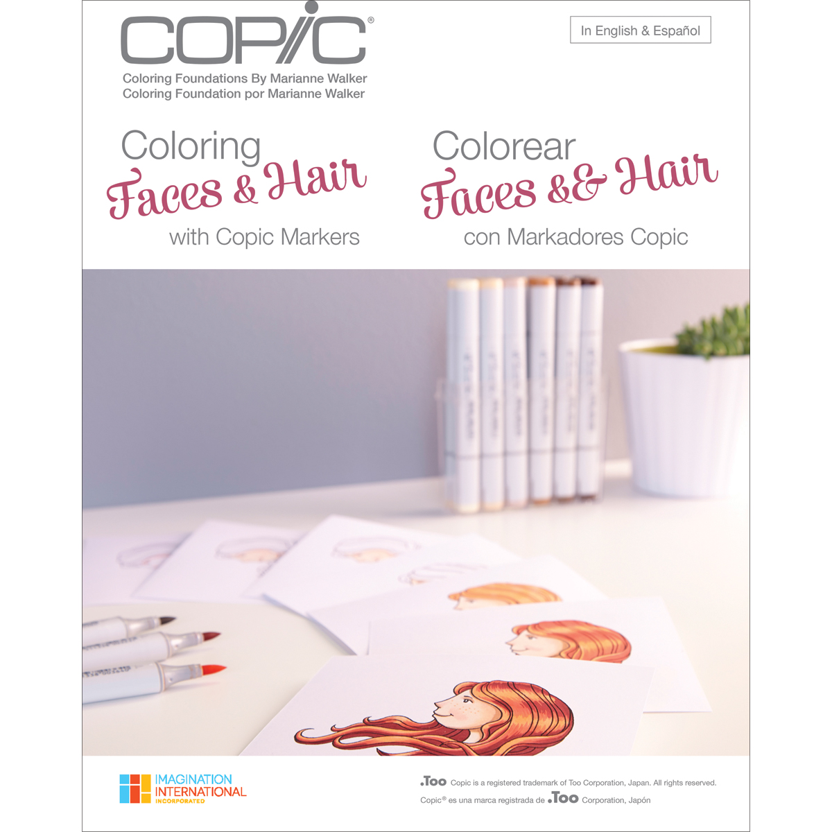 Copic Books Coloring Faces & Hair