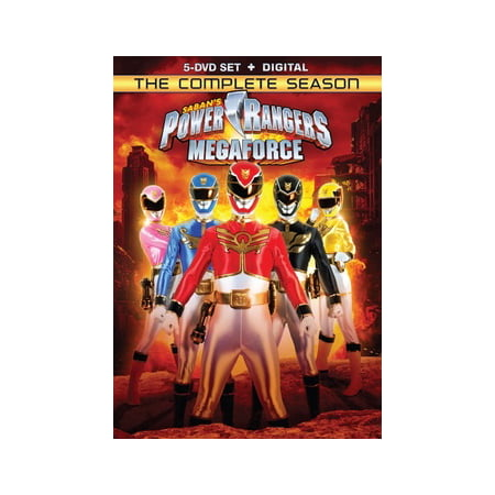 Power Rangers Megaforce: The Complete Season (DVD)](Power Rangers Megaforce Halloween Special)