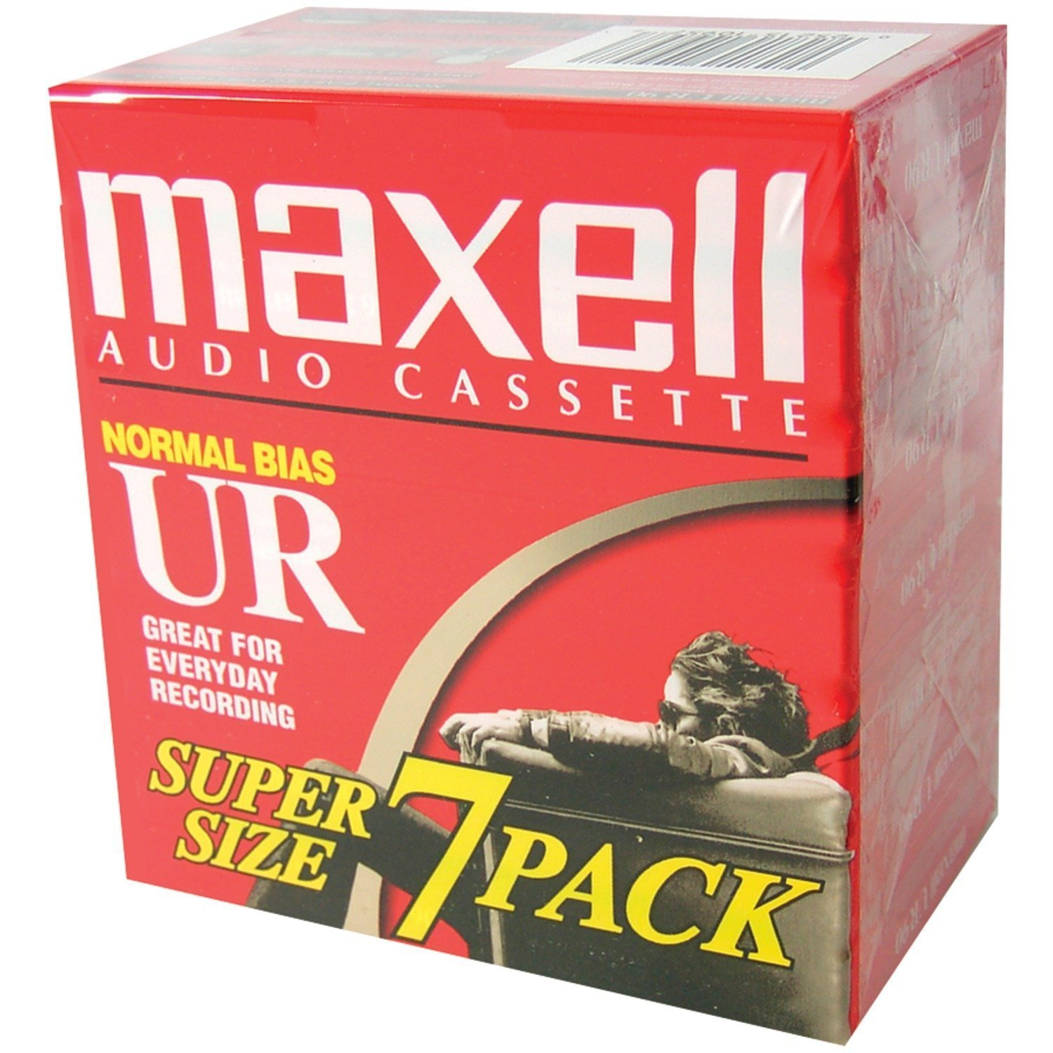 UR-90 Blank Audio Cassette Tape - 14 Pack (108575) By Maxell