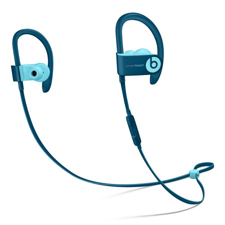 Used (Good Condition)  Powerbeats3 - Wireless Earphones - Beats Pop Collection - Blue - MRET2LL/A