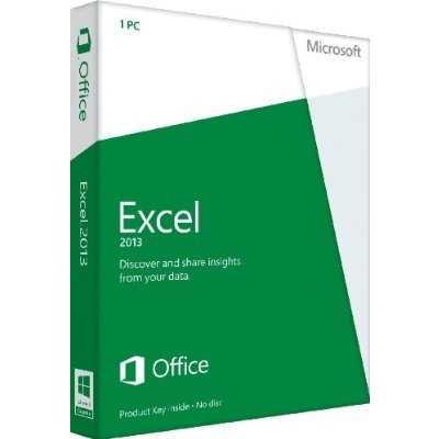 Microsoft Excel 2013 Key Card (1PC/1User)