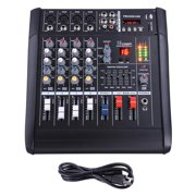 Best Usb Mixers - 4 Channel Professional Powered Mixer w/ USB Slot Review