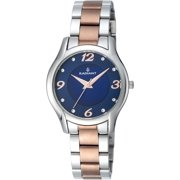 WATCH RADIANT STEEL BLUE TWO TONE GOLD PINK WOMAN RA442204