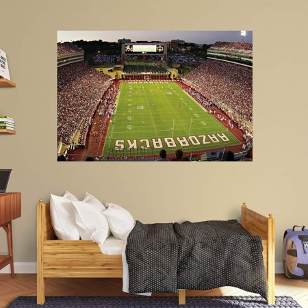 Fathead ncaa arkansas razorback stadium wall mural for Beaver stadium wall mural