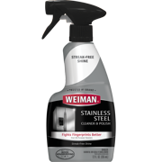Weiman Stainless Steel Cleaner & Polish Trigger Spray, 12 fl oz