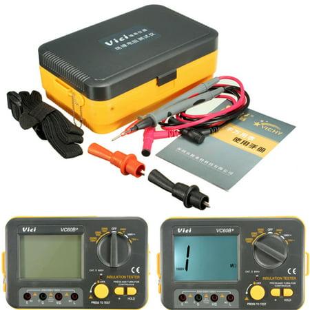 VC60B Digital Insulation Resistance Tester Megger MegOhmmeter Meter 250V  500V