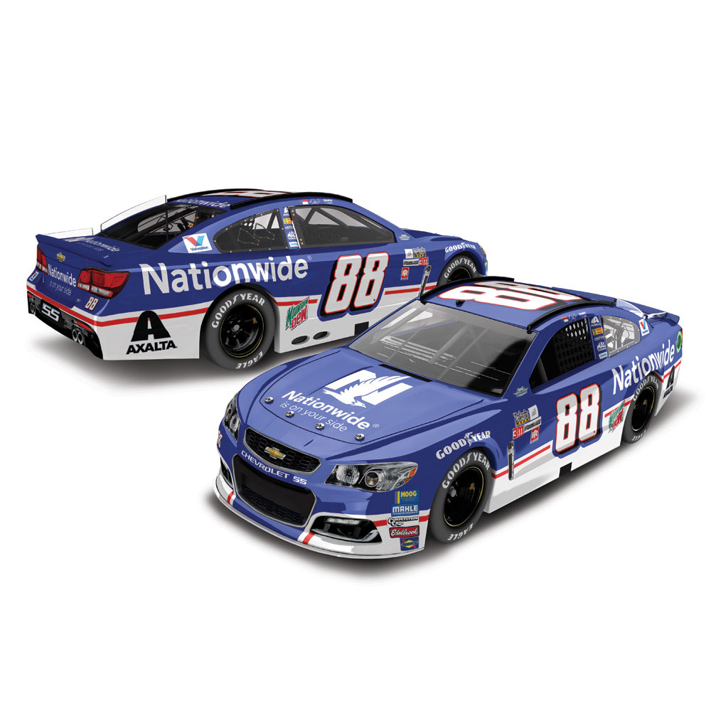 Lionel Racing Dale Earnhardt Jr #88 Nationwide Darlington 2017 Chevy SS 1:24 HOTO Die-cast