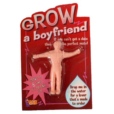 Novelty Grow A Boyfriend Husband Joke Gag Gift for $<!---->