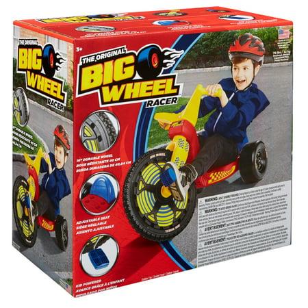 The Original Big Wheel - 16in. Racer Classic Ultimate Three Wheeled Cruiser
