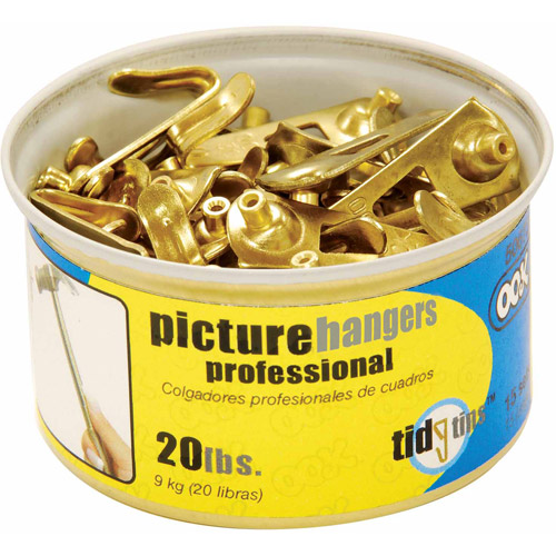 Hillman Group Inc-Ook 50673 20# Professional Picture Hooks In Tidy Tin 15 Count