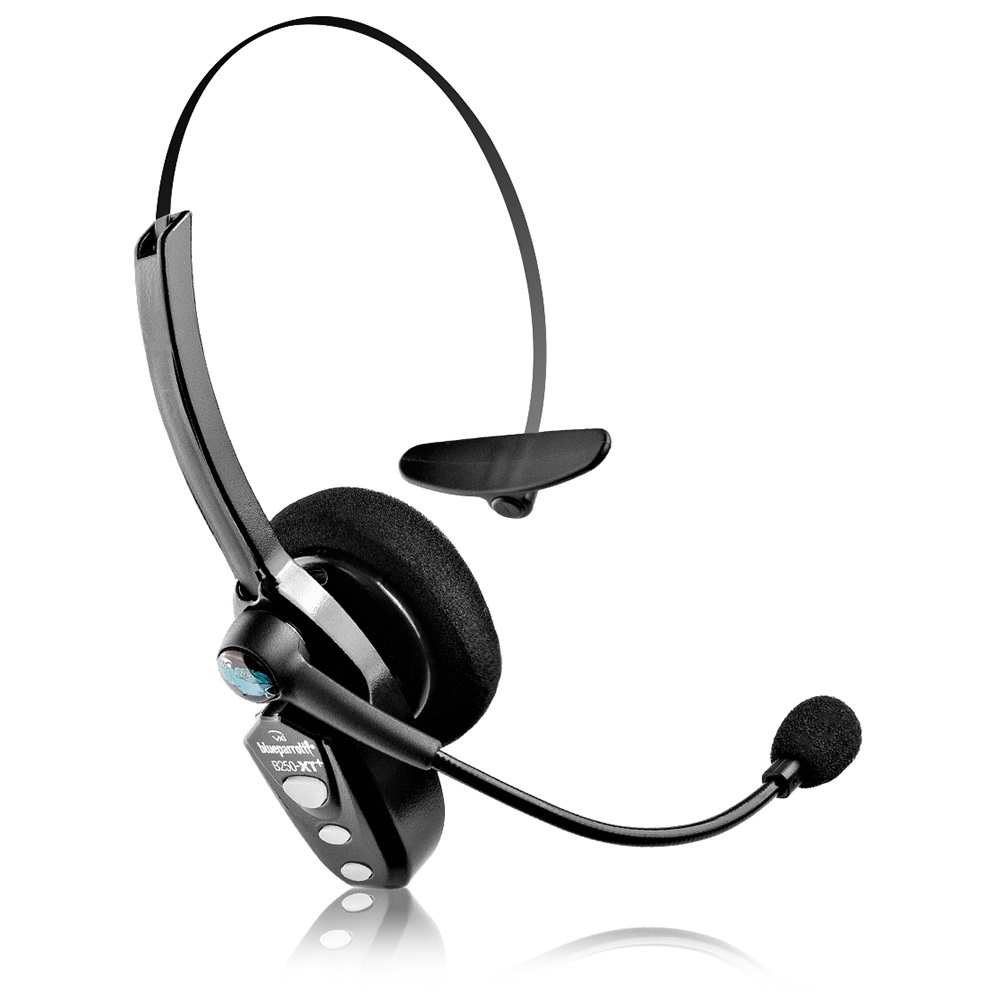 VXI BlueParrott B250-XT+ Noise Cancelling Bluetooth Headset  - Black (Certified Refurbished)