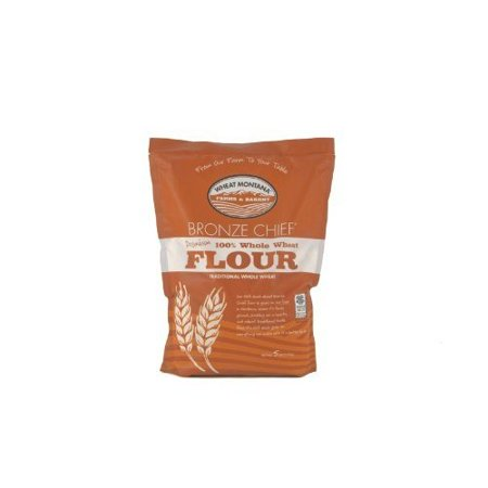 (2 Pack) WHEAT MONTANA BRONZE CHIEF FLOUR CASE 5 LB BAGS Brulee 5 Lb Bag
