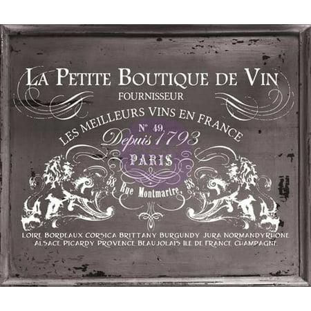 Iron Orchid Designs Decor Transfer Rub-Ons-Petit Vin Wide, 37
