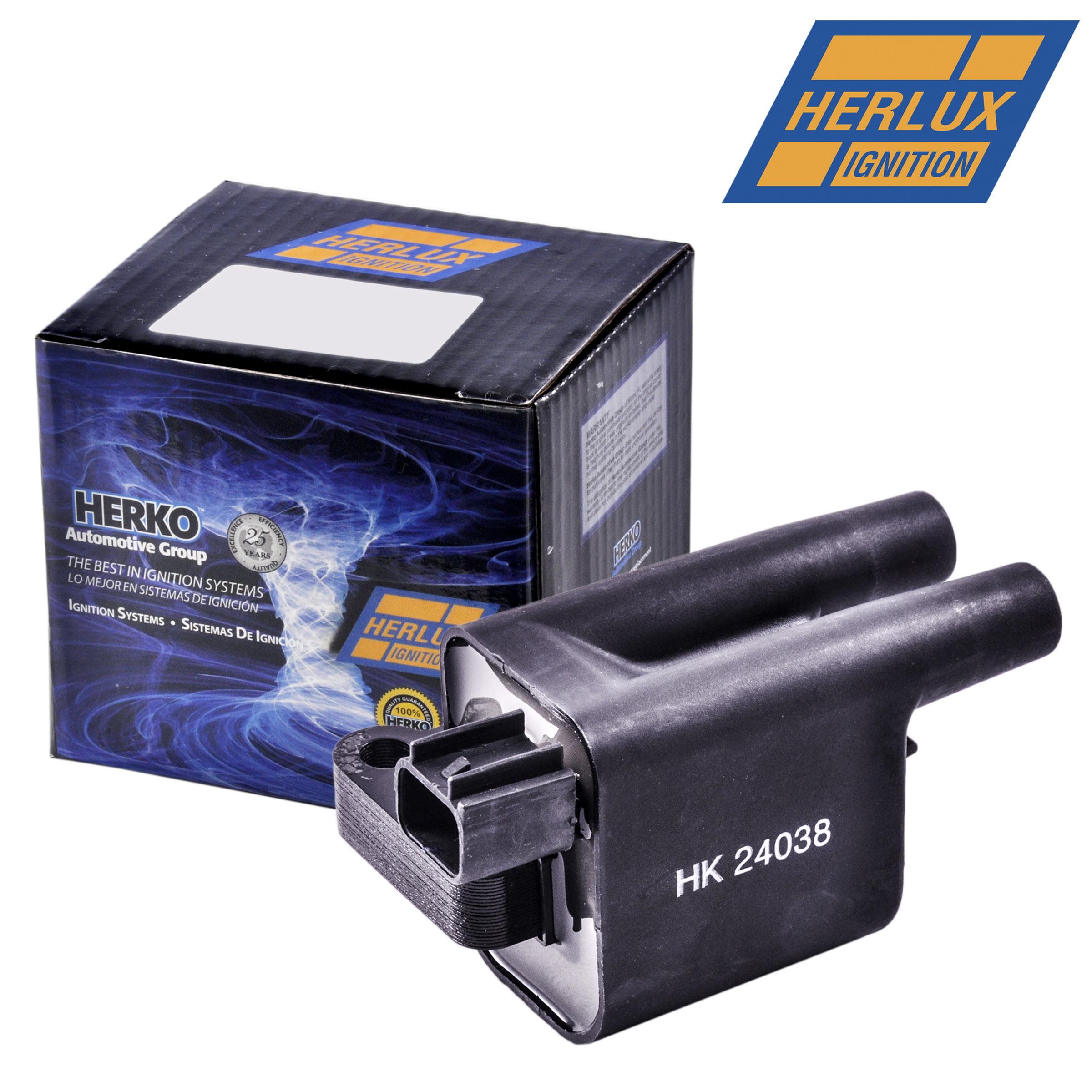 Set of 4 Herko Ignition Coil B218 For Suzuki Sidekick 1.8L-L4 1996-1997