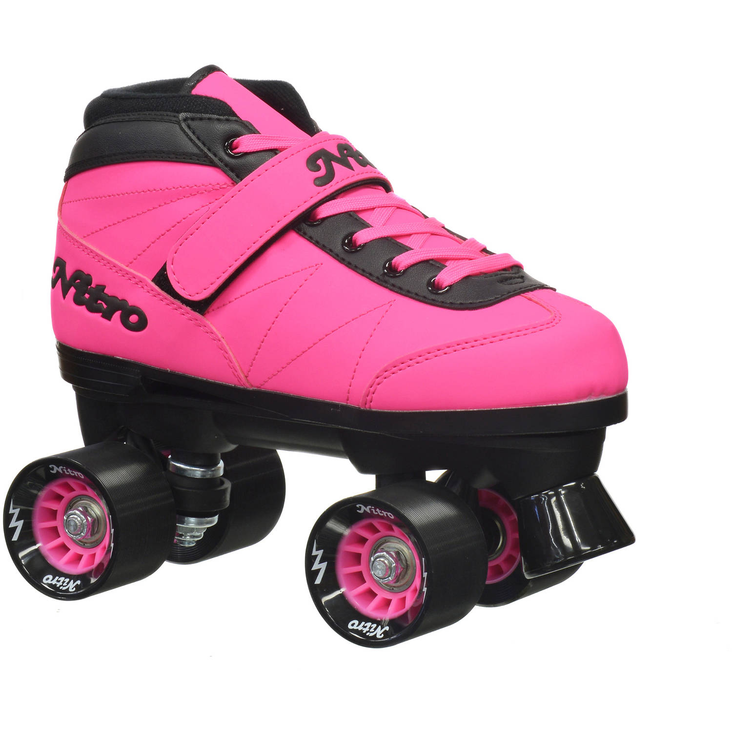 Epic Women's Nitro Turbo Pink Quad Speed Roller Skates by Epic Skates