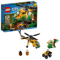 Deals on LEGO City Jungle Cargo Helicopter 60158