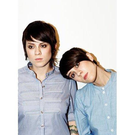 Tegan And Sara Poster Blue Shirts Vt 16