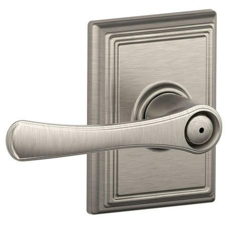 Schlage F40 Vla Add Avila Privacy Door Lever Set With