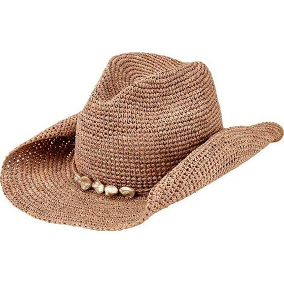 San Diego Hat Company Mens San Diego Hat Company Crochet Raffia
