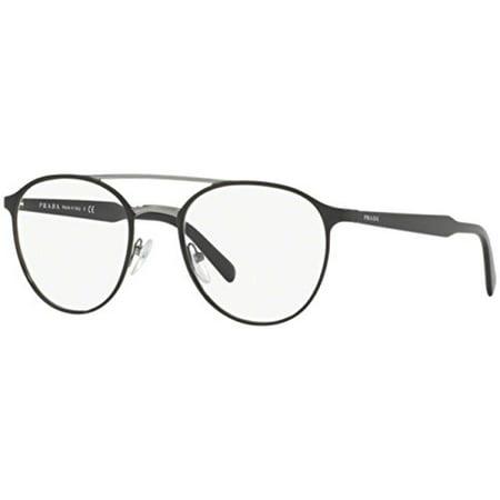 ad34183e20 Prada Men s PR 60TV Eyeglasses Black 51mm - Walmart.com