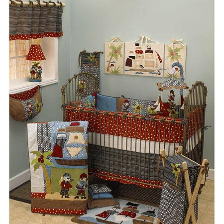 Cotton Tale  Pirate's Cove 4-piece Crib Bedding