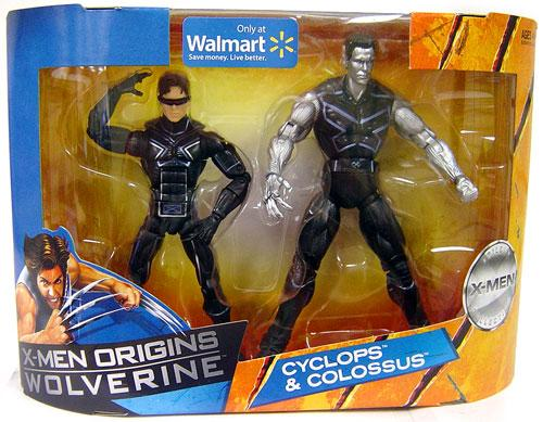 X-Men Origins Wolverine Cyclops & Colossus Exclusive Action Figure 2-Pack by