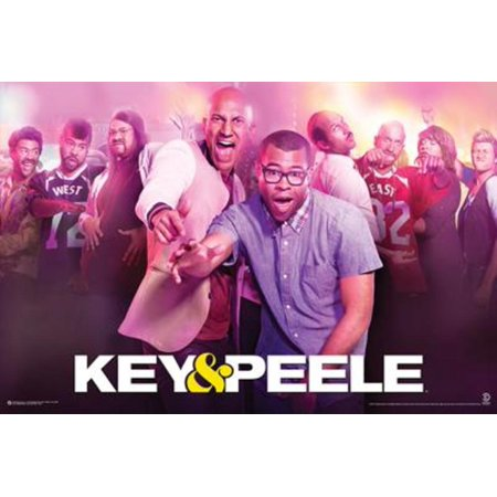 Key and Peele Club Comedy Central Television TV Show Poster 36x24 inch