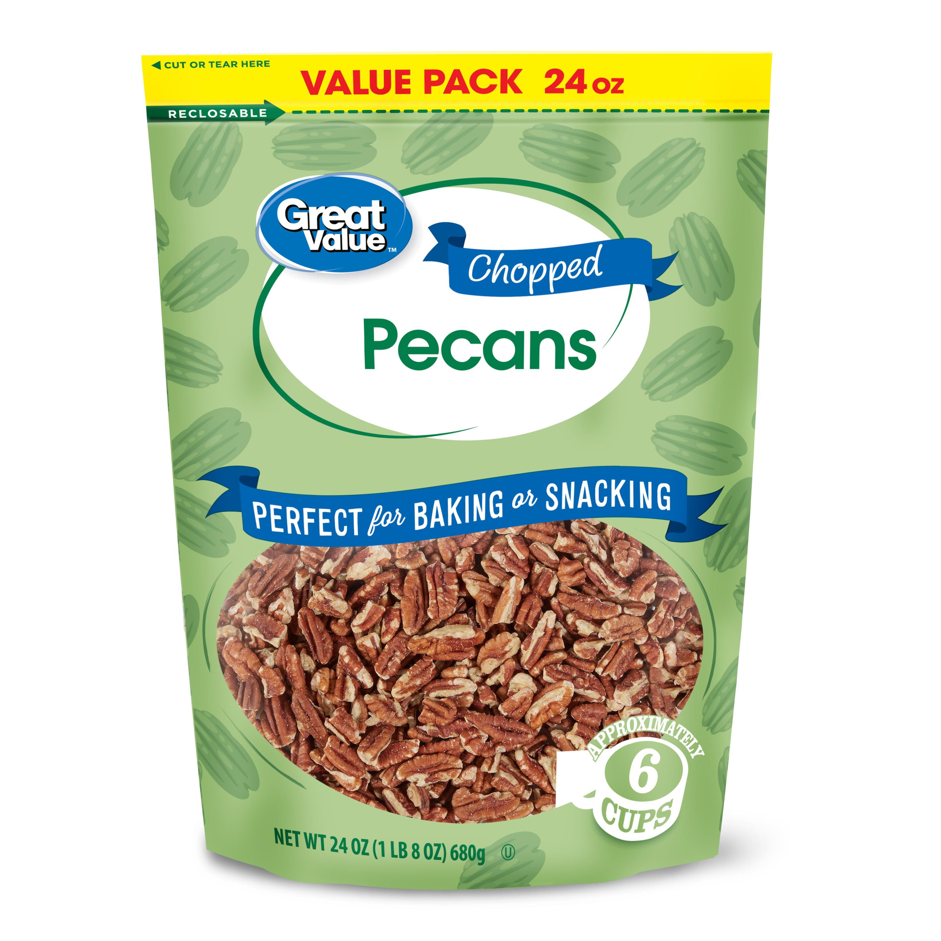 Chopped Pecans, 24 Oz Value Pack