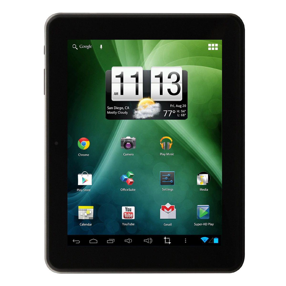 Trio 8 Tablet Stealth G2 8-Inch Display with Android, 16G...