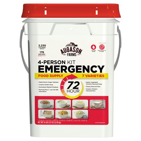 Augason Farms 72-Hour 4-Person Emergency Food Storage Kit 14 lbs 7