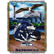 "NFL 48"" x 60"" Tapestry Throw Home Field Advantage Series- Seahawks by Generic"