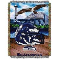 "NFL 48"" x 60"" Tapestry Throw Home Field Advantage Series- Seahawks"