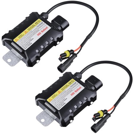Yescom 12V 55W HID Ballast Replacement Universal for Xenon Light H1 H3 H7 H8 9005 9006 Pack of