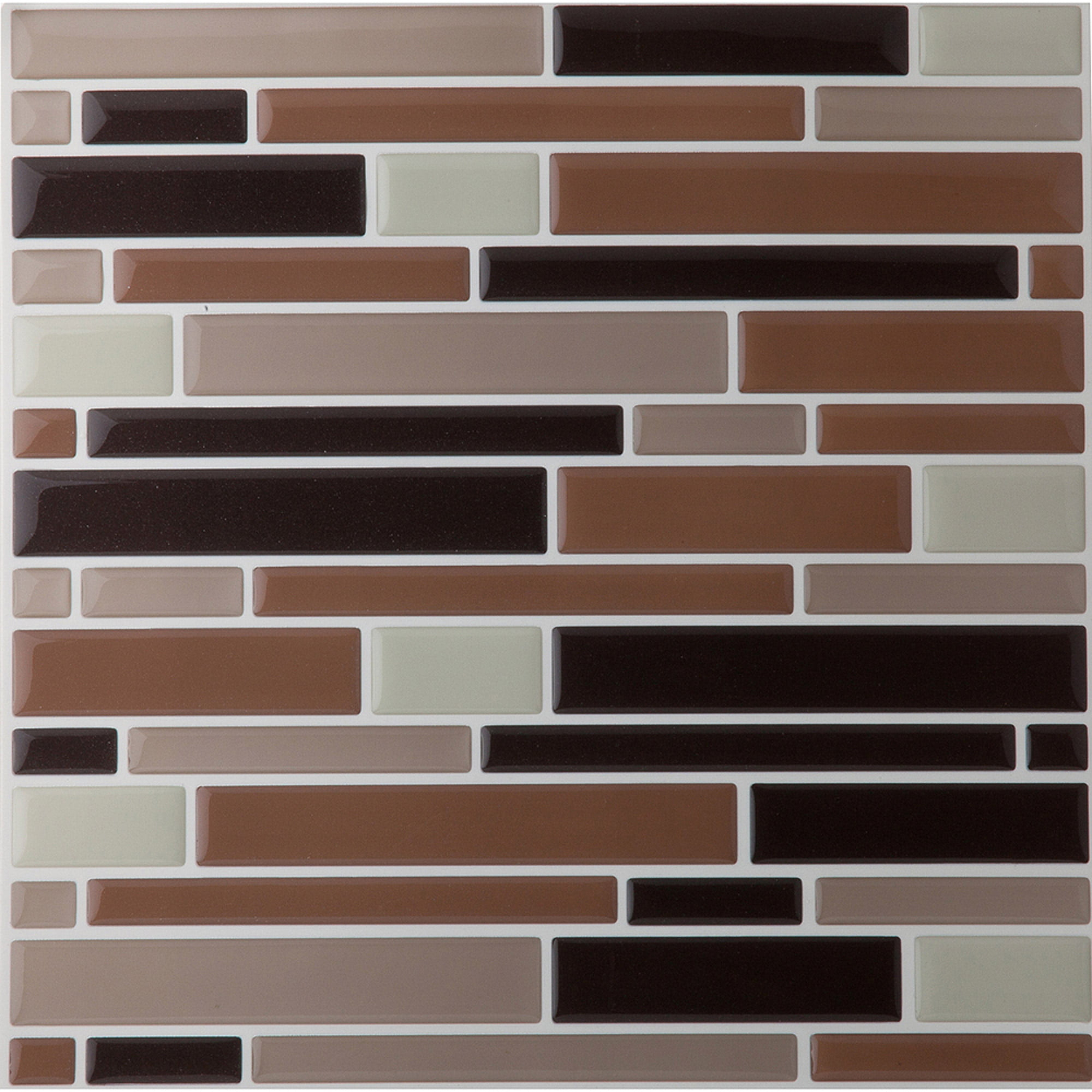 Magic Gel Beige 9.125x9.125 Self Adhesive Vinyl Wall Tile - 6 Tiles ...