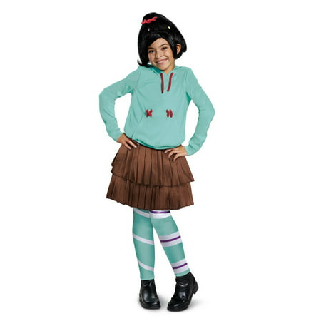 Wreck-It Ralph 2 Vanelope Deluxe Child Costume](Wreck It Ralph Halloween Costumes)