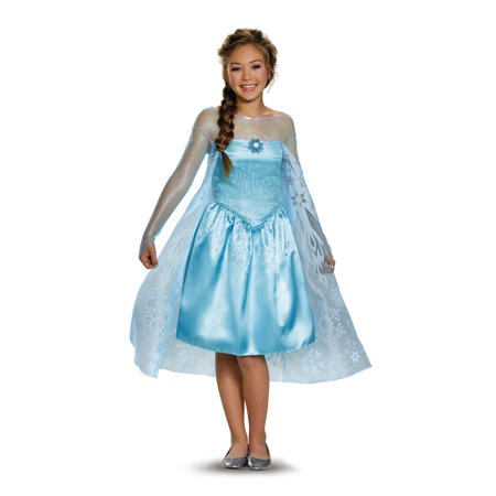 Tween Frozen Elsa Costume by Disguise 84674