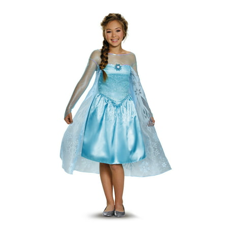 Tween Frozen Elsa Costume by Disguise 84674 (Halloween Party Crafts For Tweens)