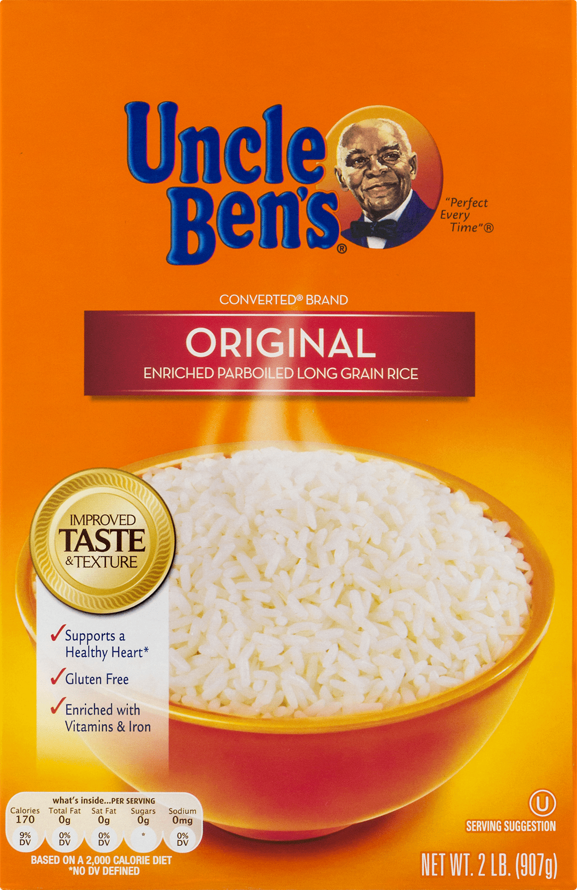 the gallery for gt uncle bens rice logo