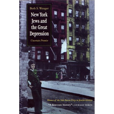 Modern Jewish History: New York Jews and Great Depression: Uncertain Promise (Paperback) New York Jets Clutch