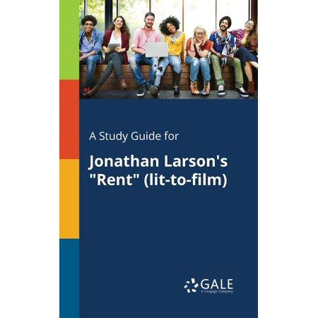 Jonathan Larson Halloween (A Study Guide for Jonathan Larson's Rent)